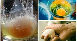 Как с помощта на сурово яйце да премахнете отрицателната енергия?