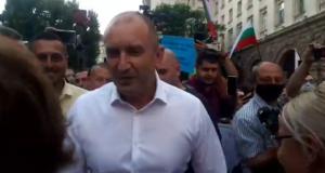 Президентът Радев при хората: Никога българите не са били по-единни в решимостта си да си отвоюват държавата от мафията