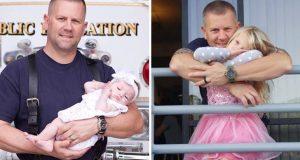 Как пожарникар изроди бебе без да подозира че ще стане негова дъщеря