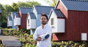 Ресторантьор-предприемач построи цяло селце за бездомните