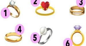 Изберете пръстен и научете какво се крие дълбоко в душата ви
