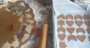 Домашните коледни бисквитки на Катето Евро
