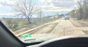 БГ реалност: Шофьори пукат гуми падат джанти по пътищата на Борисов
