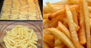 Пържени картофи без грам олио за 10 минути! Такива картофи децата с удоволствие ядат