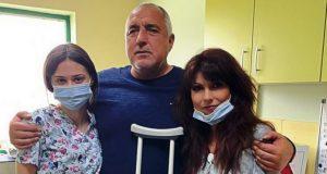 Борисов: Ората ми викаха – не оди да риташ топка