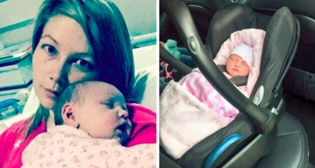 3-седмично бебе спира да диша след 2 часа пътуване с кола – Майка предупреждава всички родители