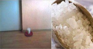 Само 24 часа след като сложите чаша с вода оцет и сол в дома ви ще настанат НЕВЕРОЯТНИ ПРОМЕНИ!